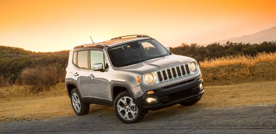 Jeep Chapman's Jeep Renegade is the perfect early graduation present. The affordable subcompact SUV is fit for any active lifestyle.