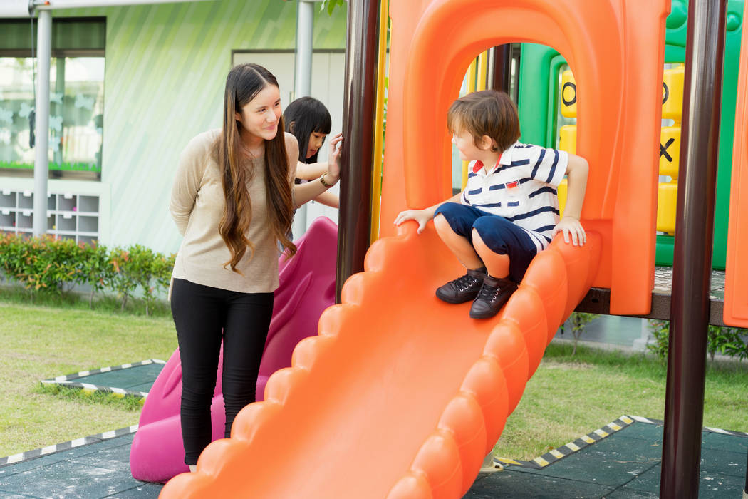 Las Vegas homeowners associations are checking playgrounds for safety. (Thinkstock)