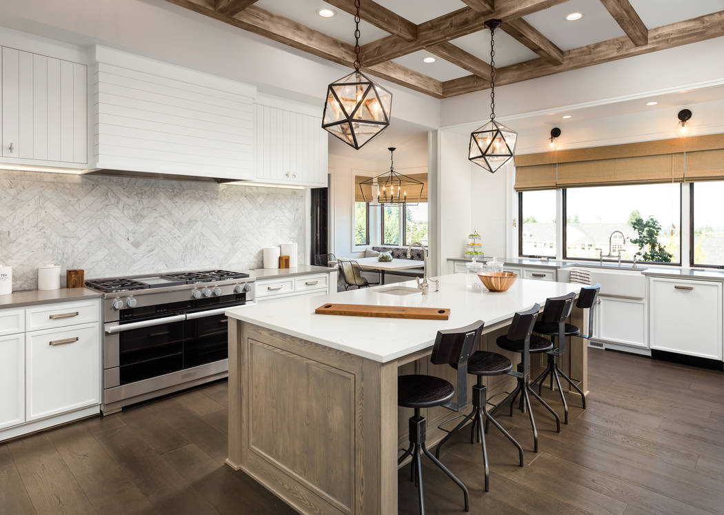 Thinkstock Bar stools should have back support so that family members and guests are comfortable.