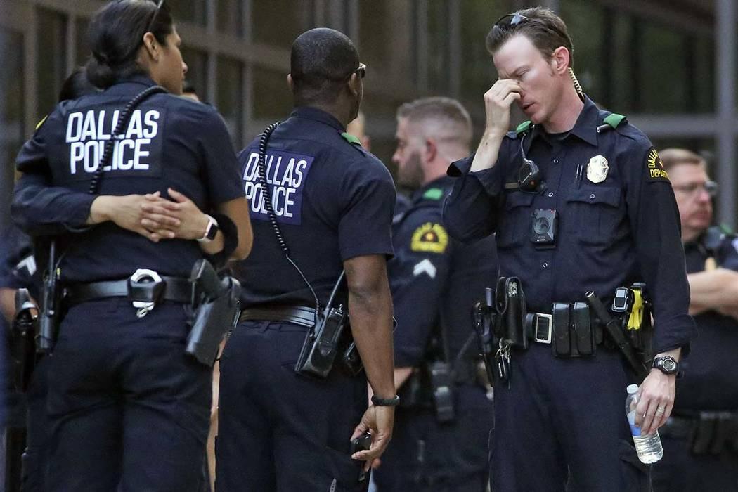 Dallas policeman dies after being shot at Home Depot Las Vegas