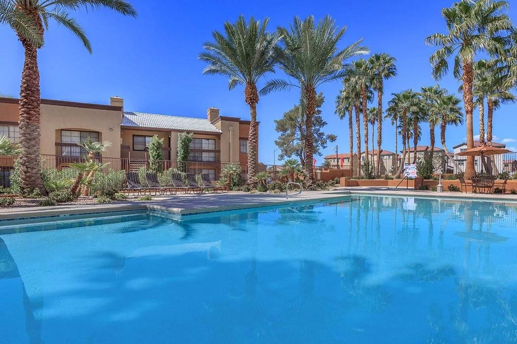 California real estate firm OpenPath Investments bought the Desert Ridge apartment complex at 7055 E. Lake Mead Blvd., for almost $31 million. (Berkadia)