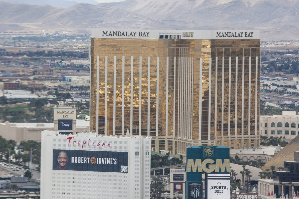 Mandalay Bay in Las Vegas on Saturday, Jan. 20, 2018. Patrick Connolly Las Vegas Review-Journal @PConnPie