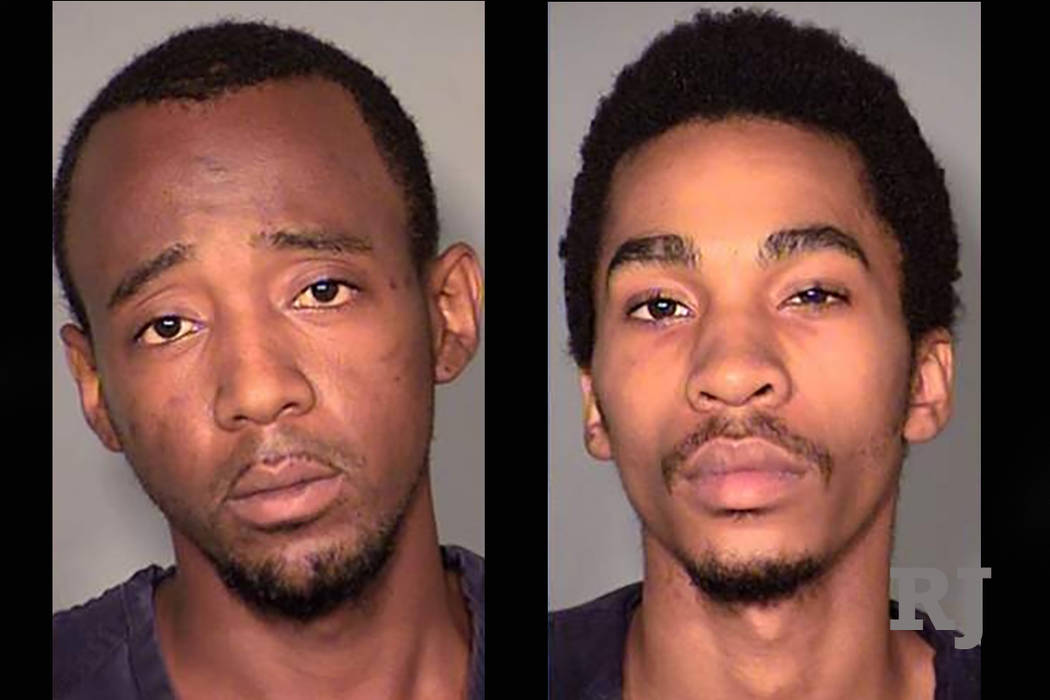 Steven Turner, left, and Clemon Hudson, right. (Las Vegas Metropolitan Police Department)
