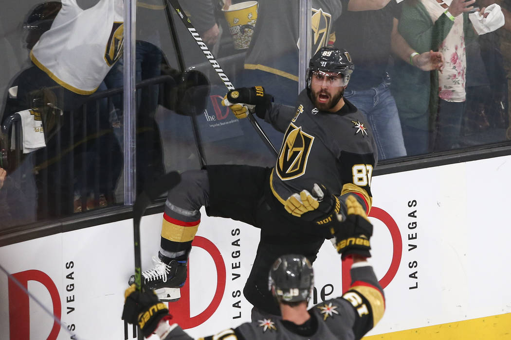 Alex Tuch Is Far From Sidebar Story To Golden Knights Season