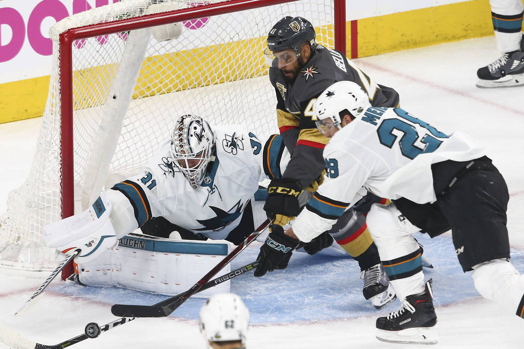 Sharks bite back, take Game 2 to even series