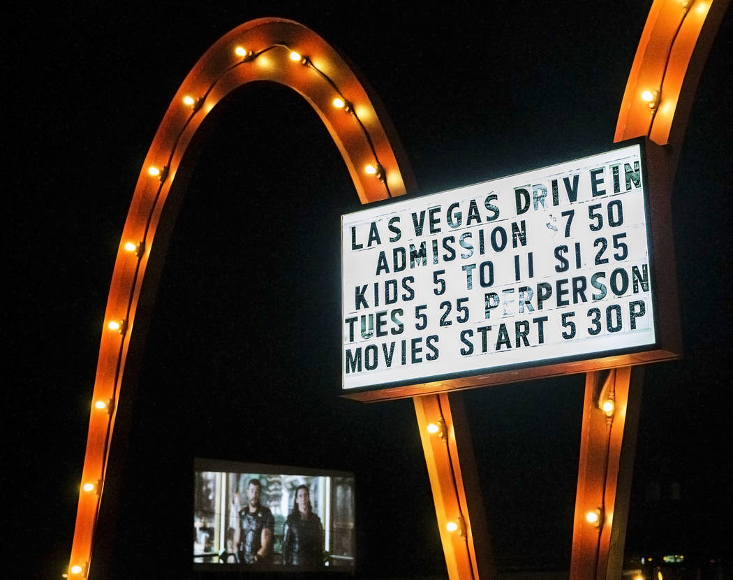 The Las Vegas Drive In on Sunday, Nov. 11, 2017, in Las Vegas.  Benjamin Hager Las Vegas Review-Journal @benjaminhphoto