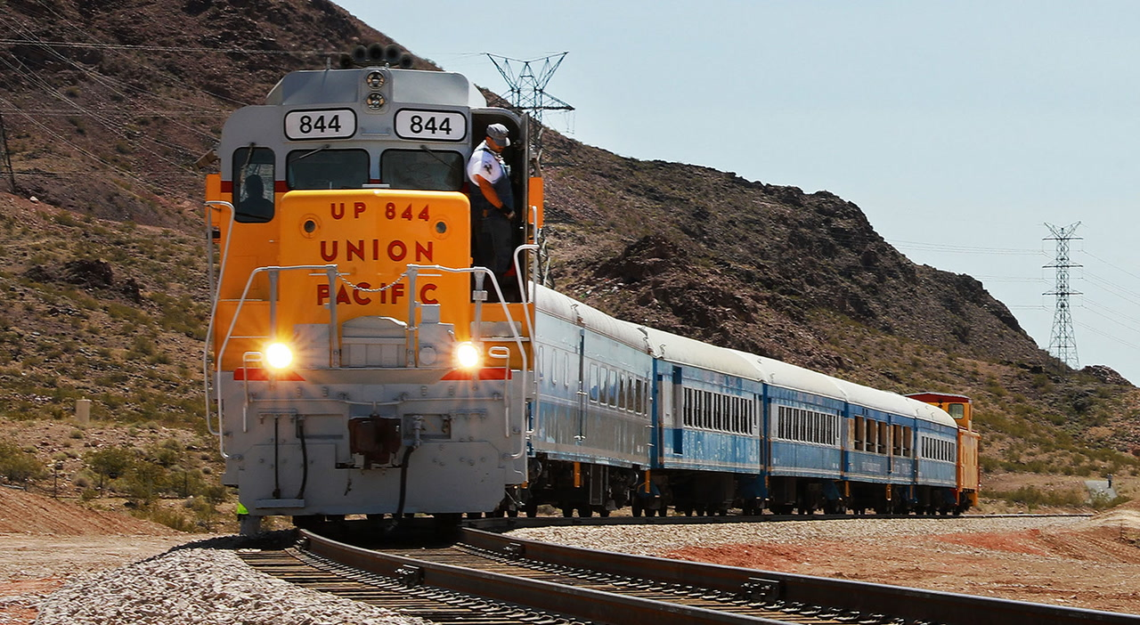 Restored Rail Line Reconnects Southern Nevada Cities Las