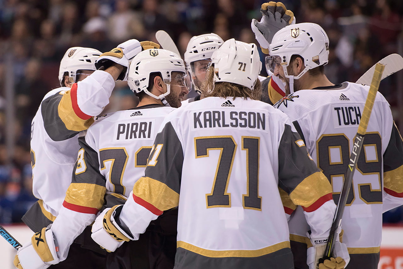 Pirri shines in Golden Knights  win  25765a97d