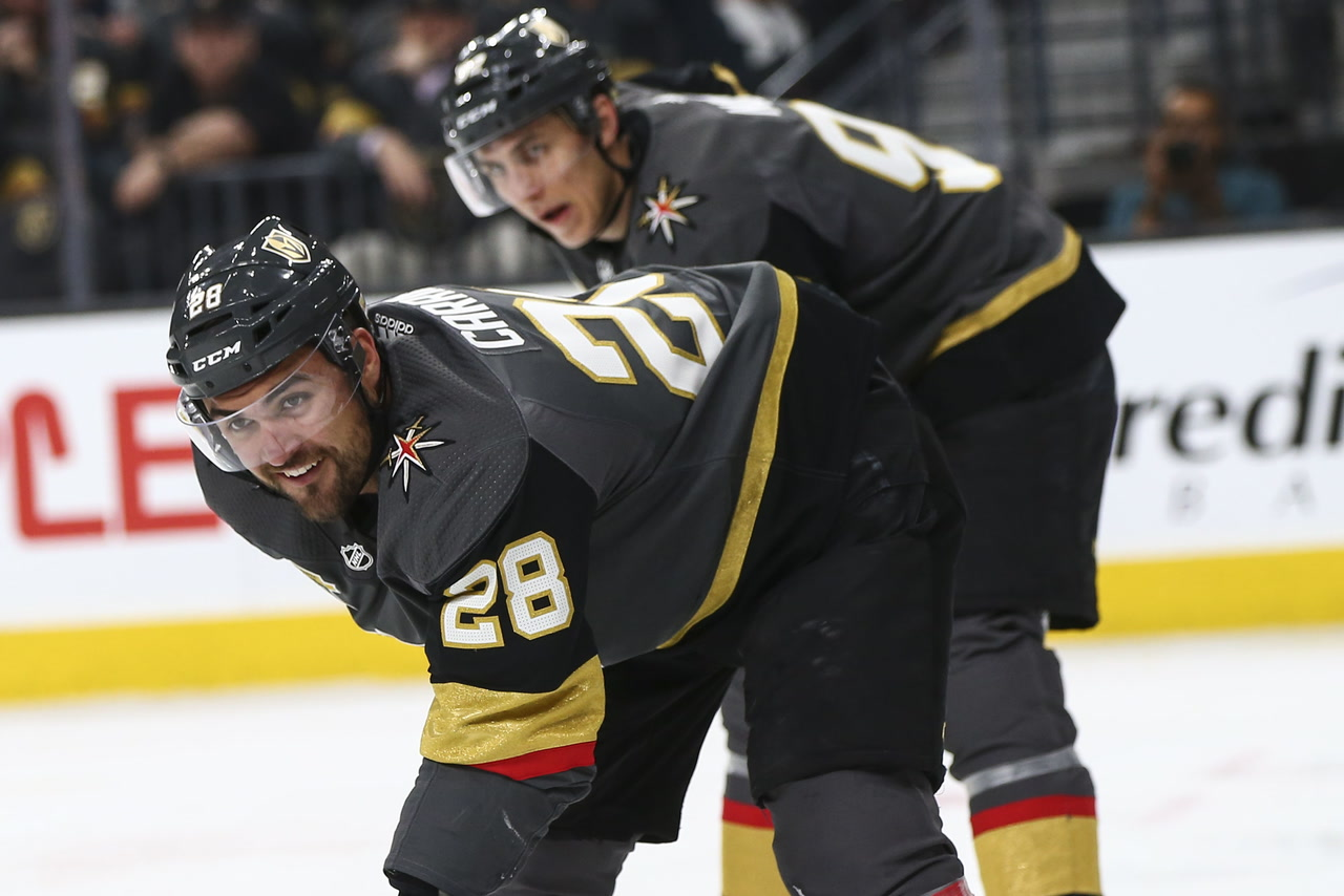 Golden Knights' Carrier says Doughty hit wasn't dirty