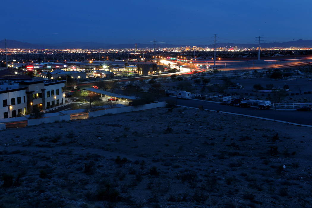 A northwest Las Vegas property owned by real estate investor Andy Pham and his investors photographed Jan. 29, 2018. Pham and his investors lost control of the multi-million dollar property to fra ...