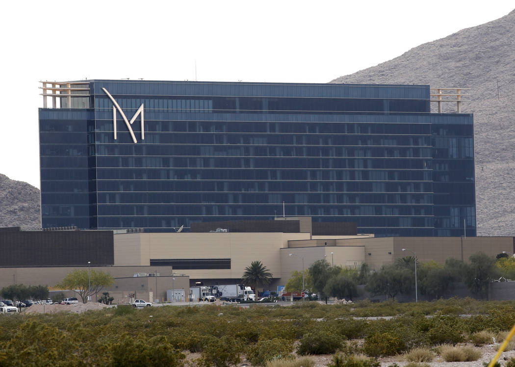 The exterior of M Resort photographed on Tuesday, May 1, 2018, in Henderson. Bizuayehu Tesfaye/Las Vegas Review-Journal @bizutesfaye