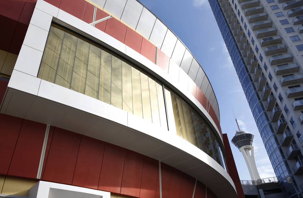 The exterior of Lucky Dragon, which shut down gaming and casino restaurant operations in early Jan., in Las Vegas on Monday, April 16, 2018. Bizuayehu Tesfaye/Las Vegas Review-Journal @bizutesfaye