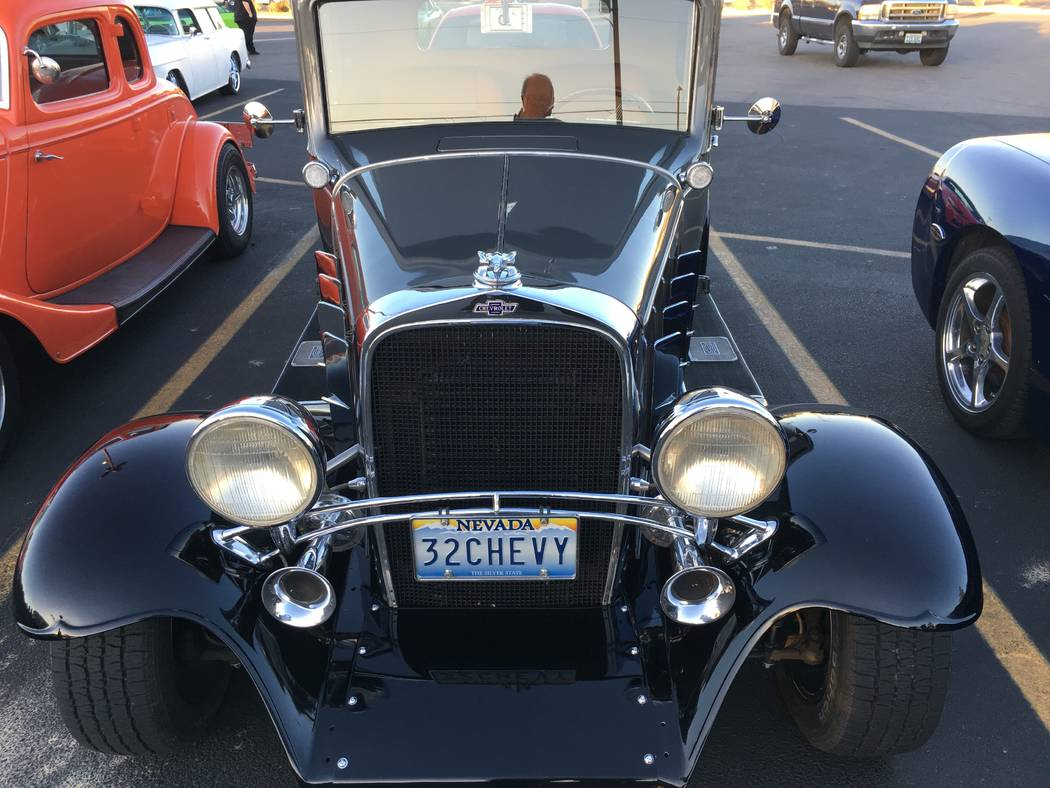 You don't need the license plate to identify this one as a '32 Chevy. (John Przybys Las Vegas Review-Journal)