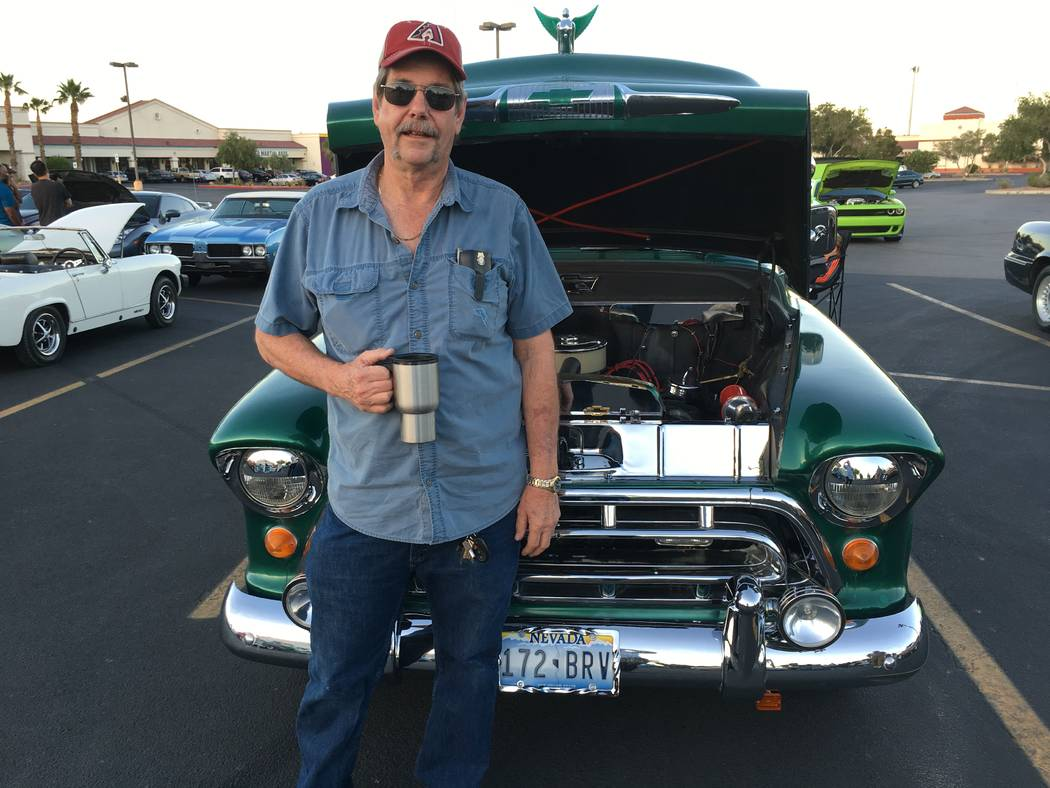 Don Bickford bought his 1957 Chevrolet 3100 flatbed in 1986, but still isn't quite done restoring it.