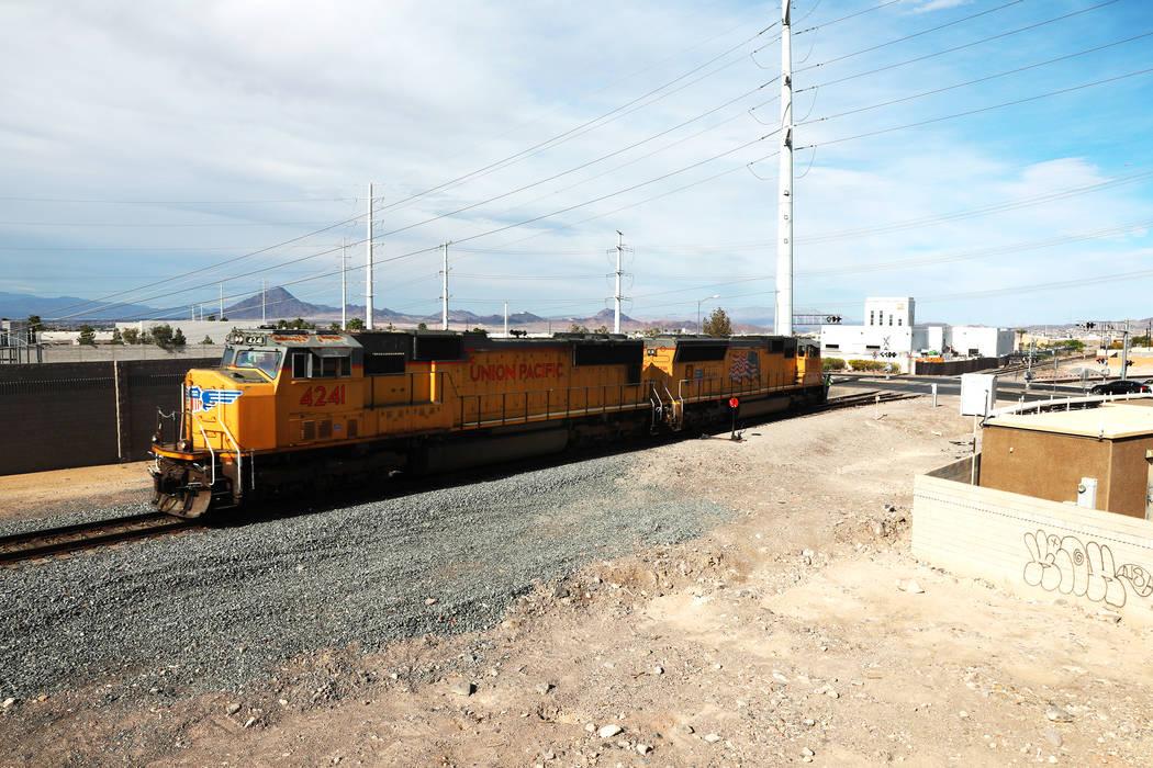 The site of the 1988 PEPCON explosion in Henderson, as seen on April 2, 2018. Andrea Cornejo Las Vegas Review-Journal @dreacornejo