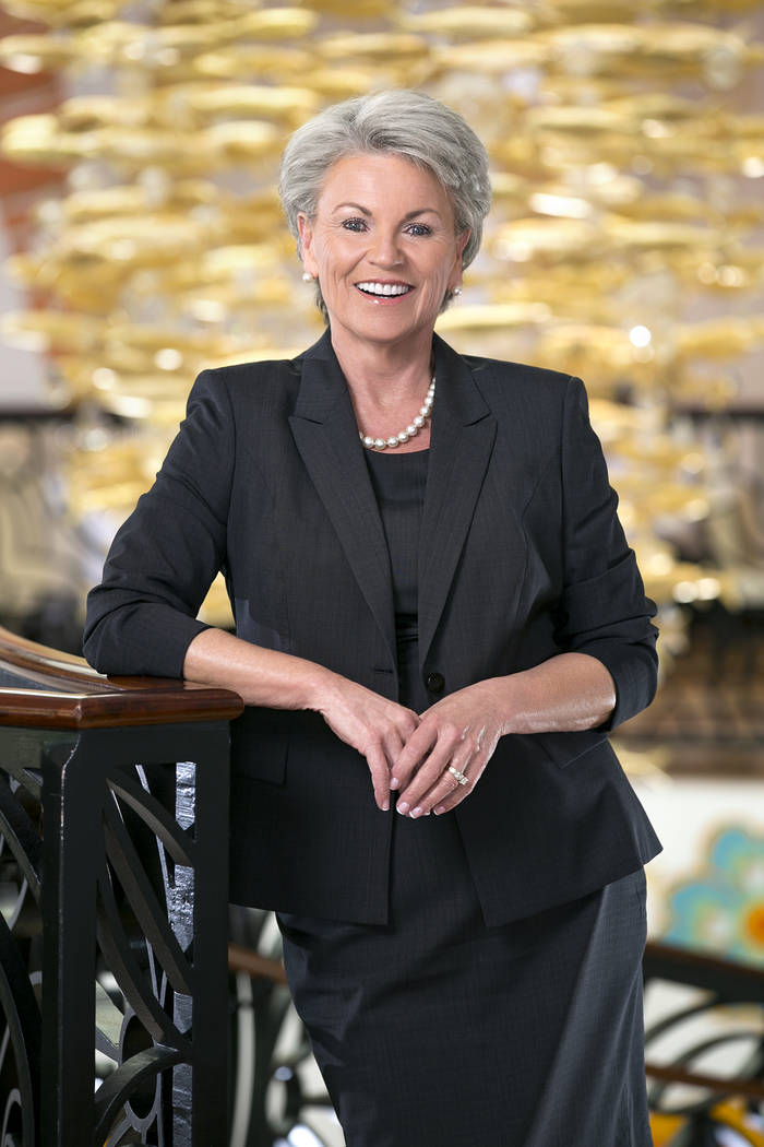 Pat Mulroy: Mulroy, a former member of the Nevada Gaming Commission, joined the Wynn Resorts Ltd. board in October 2015. (Photo Source: Wynn spokeswoman)