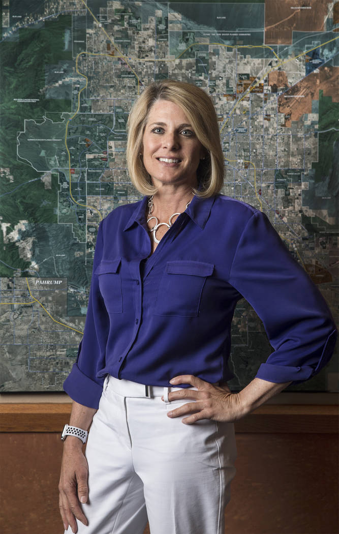 Tina Quigley, general manager of the Regional Transportation Commission of Southern Nevada, on Thursday, May 3, 2018, at her office, in Las Vegas. Benjamin Hager Las Vegas Review-Journal @benjamin ...