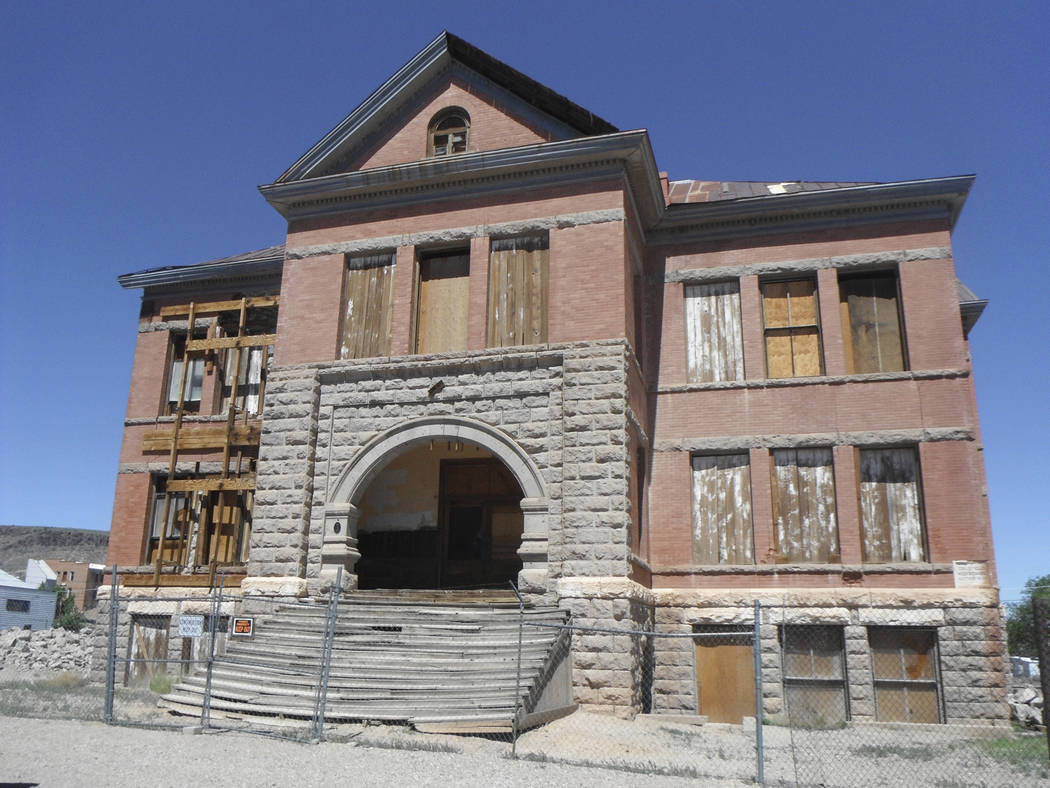 Goldfield High School Courtesy Preserve Nevada