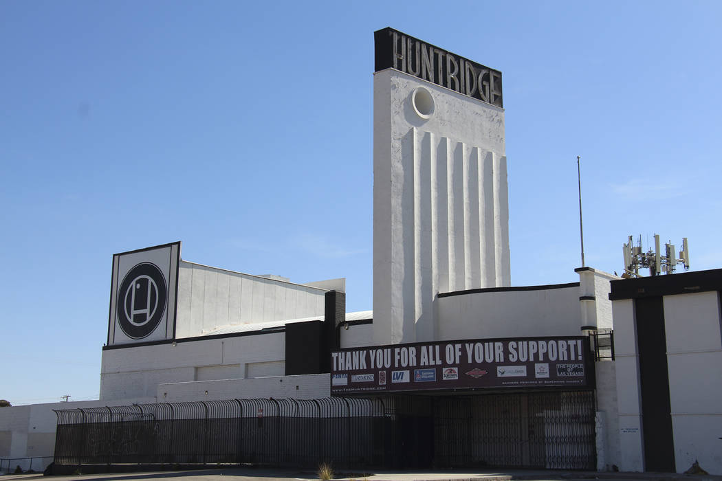 The Huntridge theater opened in 1944 in the then-new Huntridge neighborhood and was the first desegregated theater in Southern Nevada. Courtesy Preserve Nevada