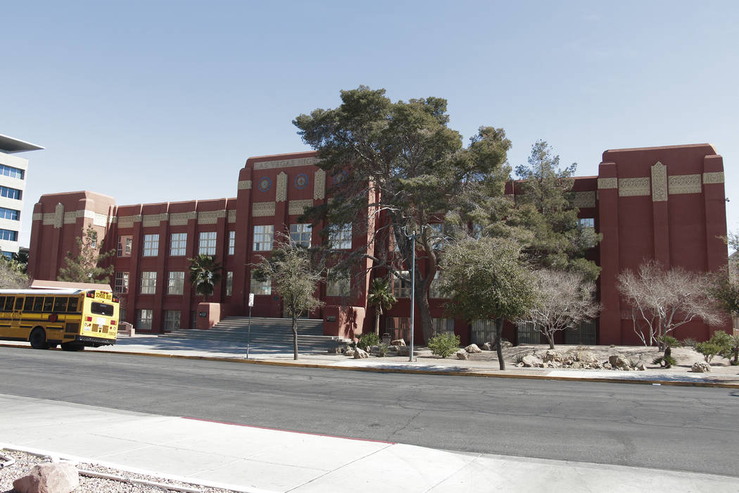Las Vegas High School Courtesy Preserve Nevada