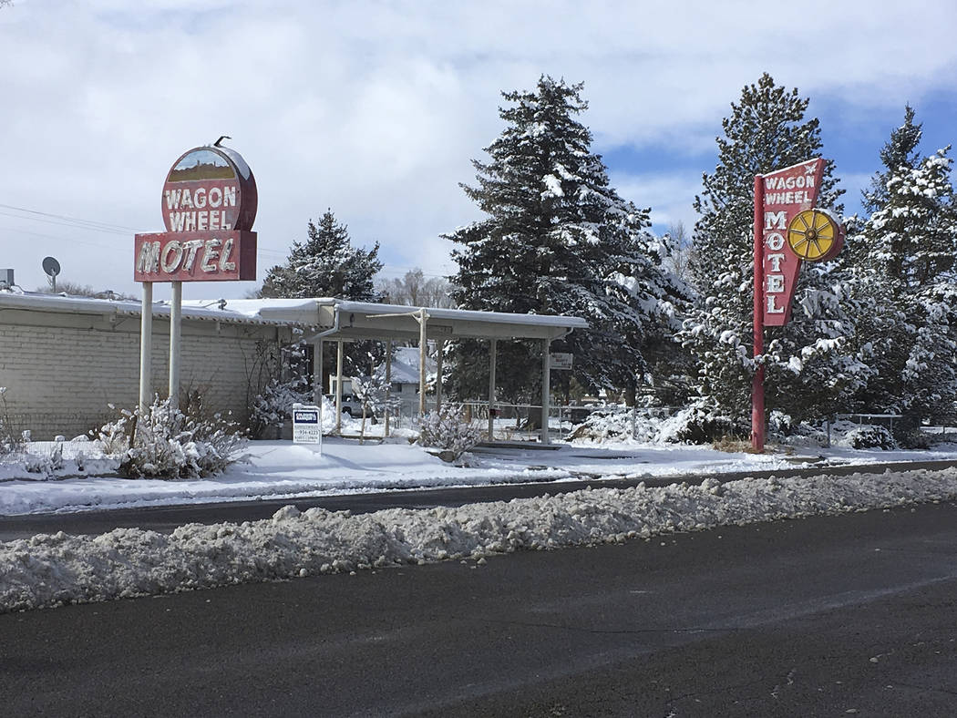 Wagon Wheel Motel, Wells, Nevada Courtesy Preserve Nevada