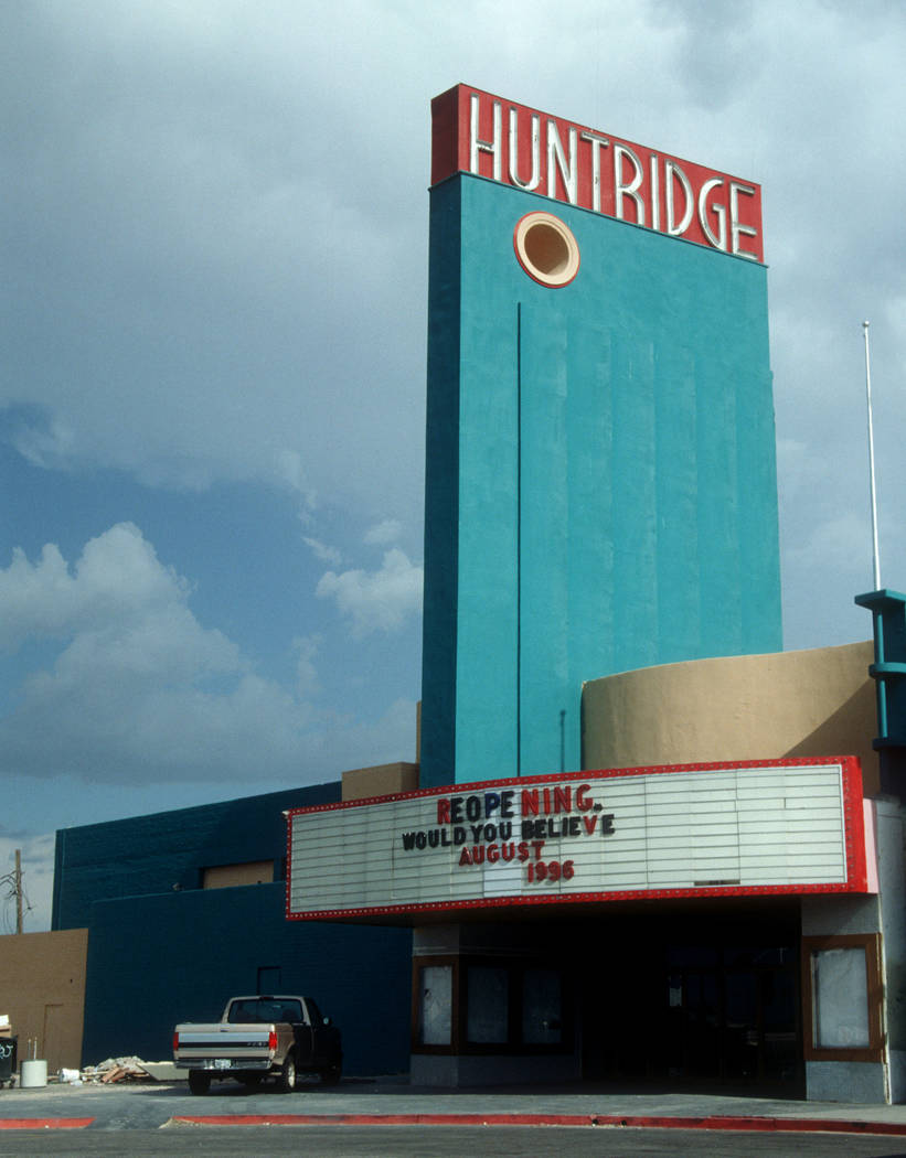 The Huntridge Theater re-opening 7/10/96 Huntridge Theater 7/10/1996