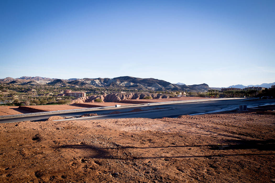 Lake Las Vegas is developing it South Shore. (Tonya Harvey)