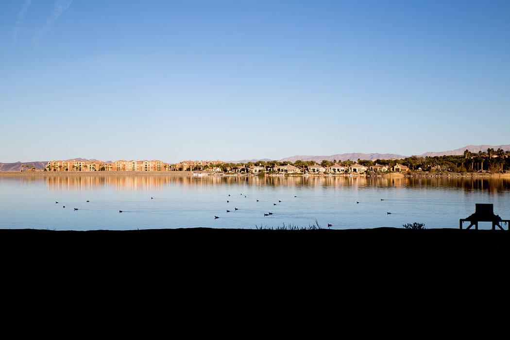 Lake Las Vegas. (Tonya Harvey)
