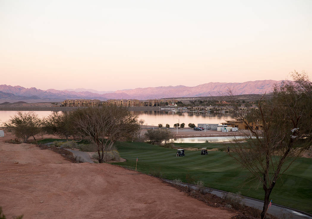 Lake Las Vegas has started to develop the South Shore. (Tonya Harvey)