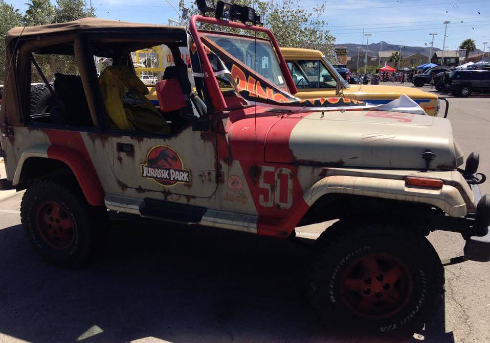 Chapman This Jurassic Park throwback took home a cash prize at the 2017 Big Bad Jeep Show at Chapman Chrysler Jeep.
