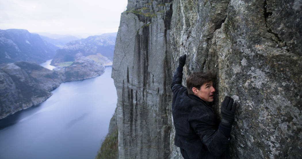 Tom Cruise as Ethan Hunt in MISSION: IMPOSSIBLE - FALLOUT from Paramount Pictures and Skydance. Credit: Paramount Pictures