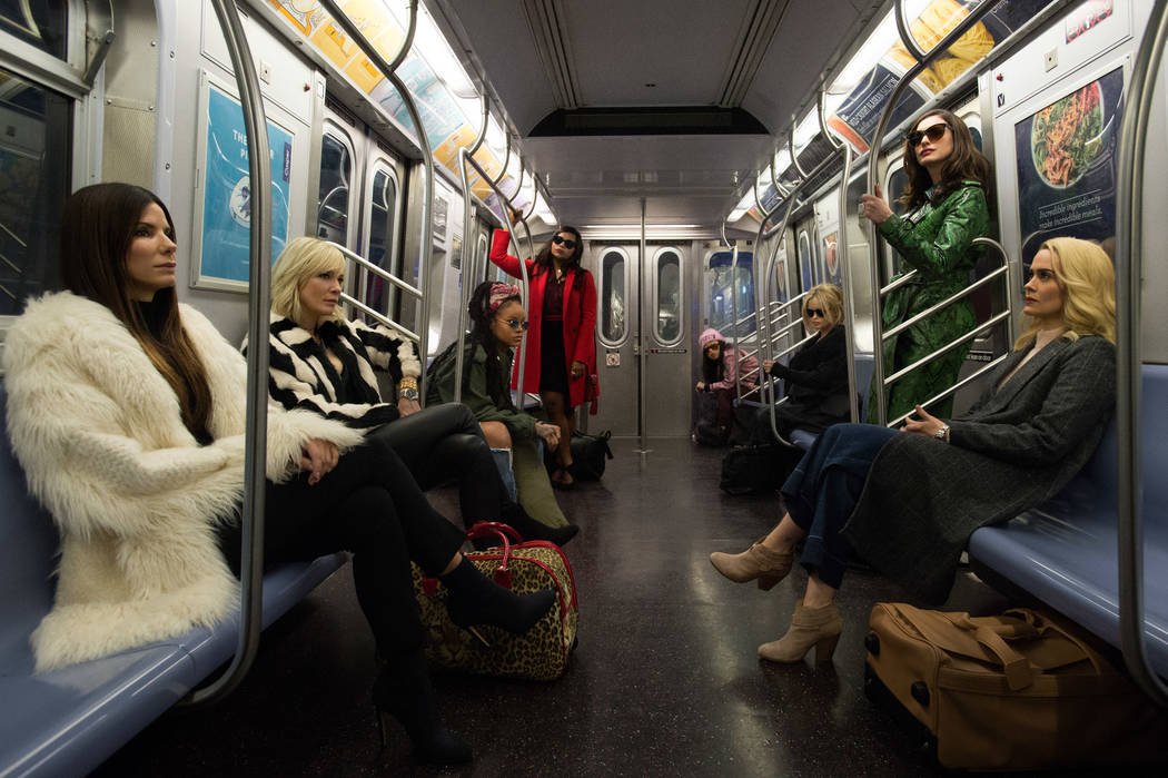"Warner Bros. Pictures' and Village Roadshow Pictures' ""OCEANS 8,"" a Warner Bros. Pictures release."