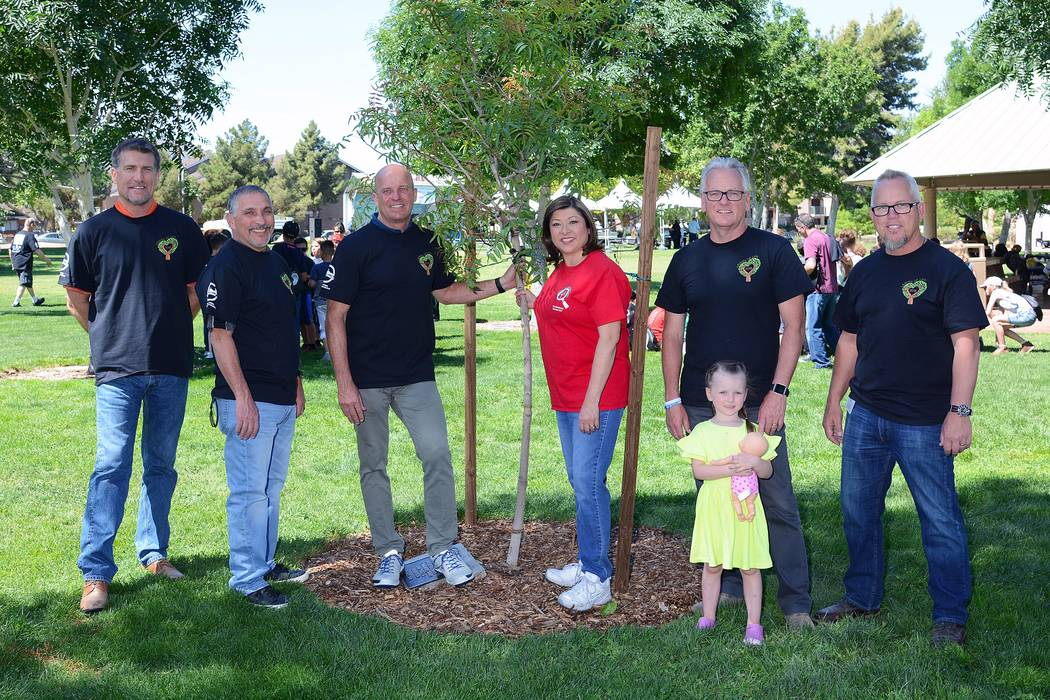 Pardee Homes underwrote the cost of 65 trees that have been planted in Henderson parks since April 2017 in celebration of the builder's 65 th anniversary in Southern Nevada. On Arbor Day, the 65 ...