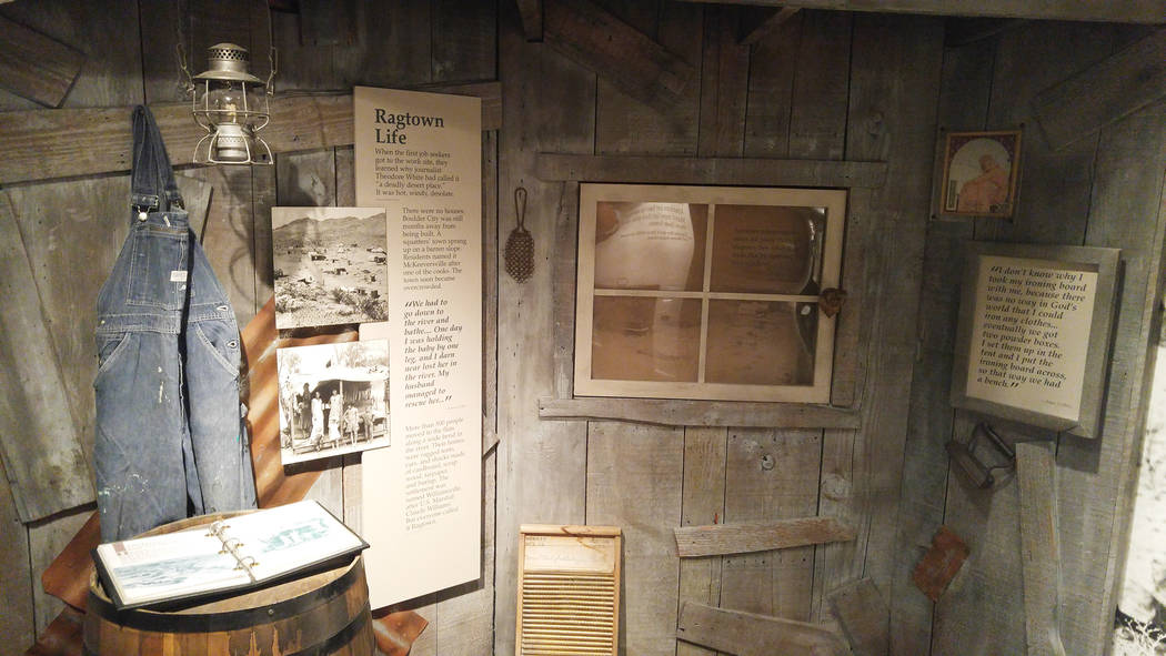 The Boulder City/Hoover Dam Museum tells the story of the construction of the dam, as well as the birth of Boulder City, with artifacts, audio recordings and interactive exhibits. Hunter Terry/Bou ...