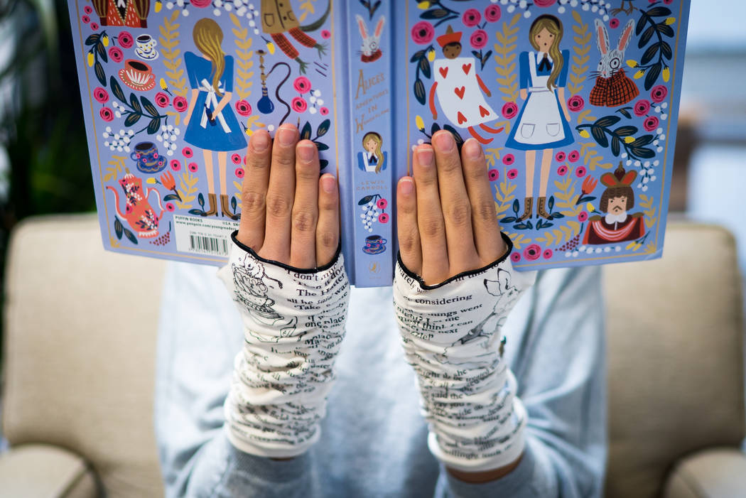 """Alice in Wonderland"" gloves"