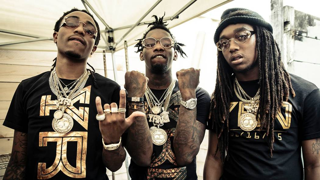 Atlanta rap trio Migos. (Courtesy)