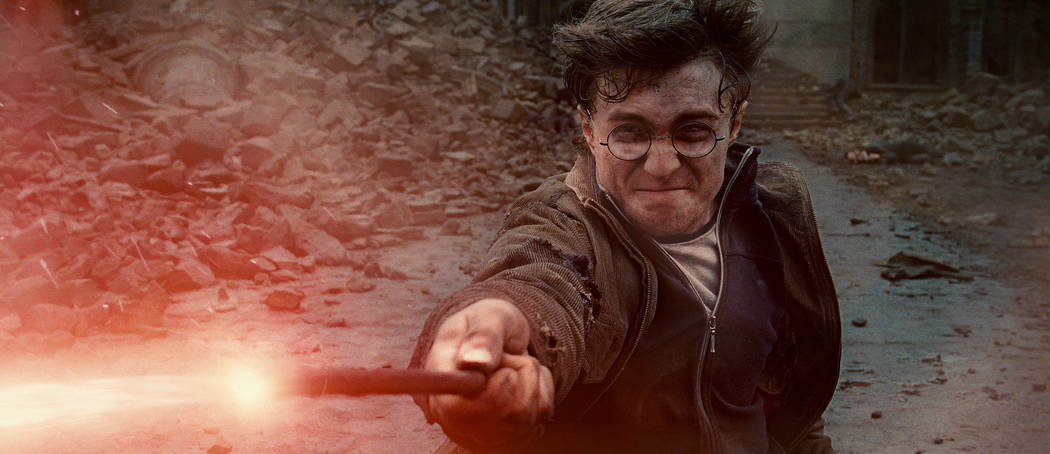 """In this film publicity image released by Warner Bros. Pictures, Daniel Radcliffe is shown in a scene from """"Harry Potter and the Deathly Hallows: Part 2."""" (AP Photo/Warner Bros. Pictures)"""