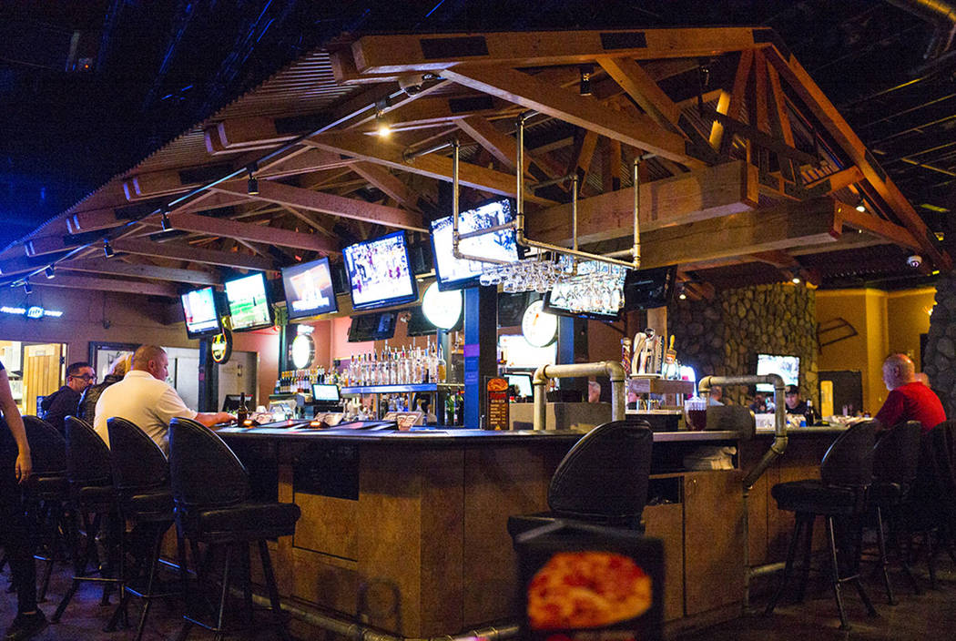 Timbers, a bar and grill that also offers video poker, in Henderson on Thursday, March 15, 2018. Chase Stevens Las Vegas Review-Journal @csstevensphoto