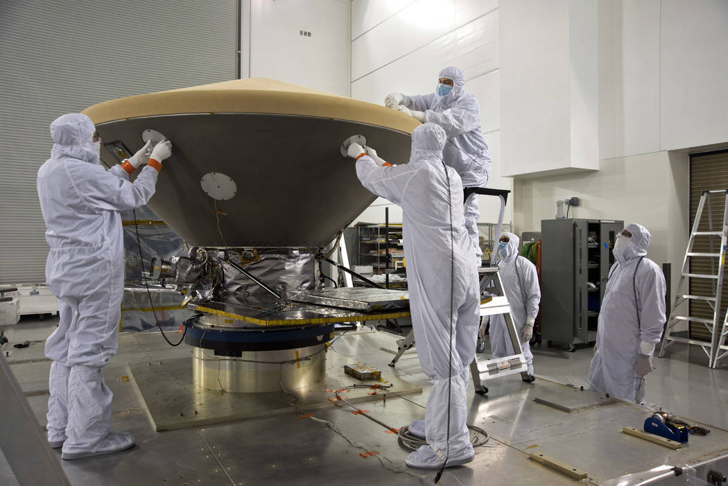 NASA's Mars InSight Spacecraft to liftoff on 5 May from California