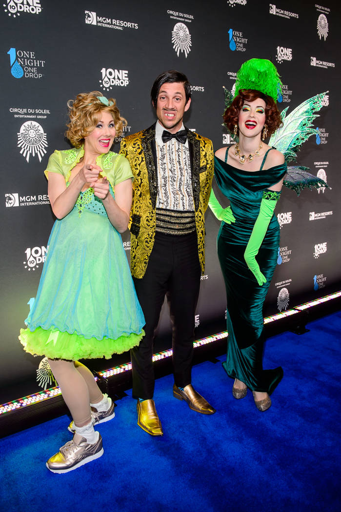 """Members of """"Absinthe"""" are shown at """"One Night For One Drop"""" on Friday, March 2, 2018. (Brenton Ho)"""