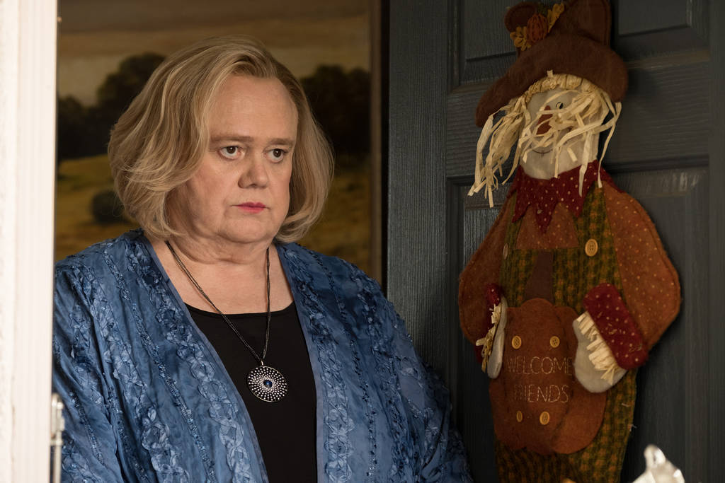 "BASKETS -- ""Thanksgiving"" --Season 3, Episode 6 (Airs Tuesday, February 27, 10:00 pm/ep) -- Pictured: Louie Anderson as Christine Baskets. CR: Colleen Hayes/FX"