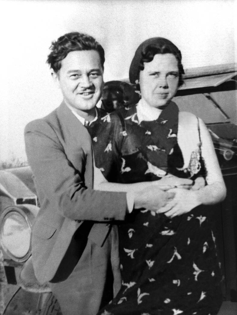 Louie Anderson's father and mother (Simon and Schuster)