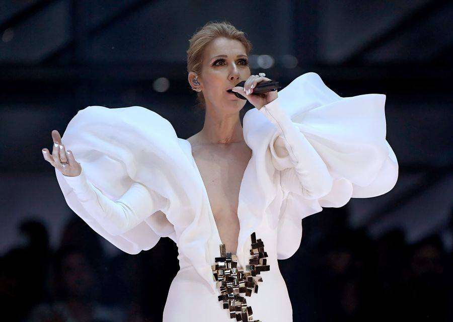 """Celine Dion performs """"My Heart Will Go On"""" during The 2017 Billboard Music Awards at T-Mobile Arena on Sunday, May 21, 2017, in Las Vegas. (Ethan Miller/Getty Images for ABC)"""