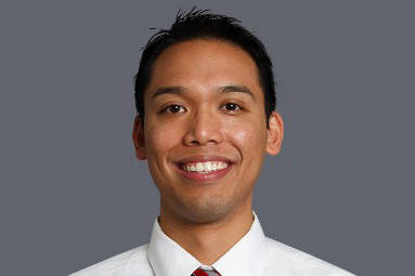 Eric Nepomuceno is the new head of athletic department compliance at UNLV. Photo courtesy of UNLV Athletics.
