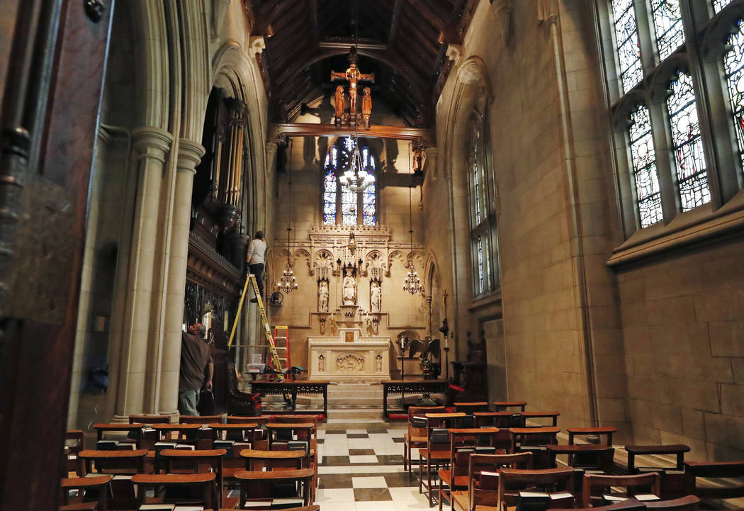 Trinity Church Partially Closed For 2-Year Renovation