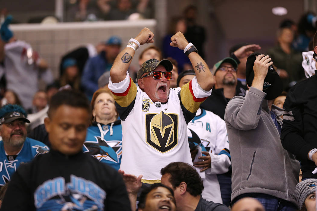 Golden Knights Reach Western Finals With 3-0 Victory Over Sharks