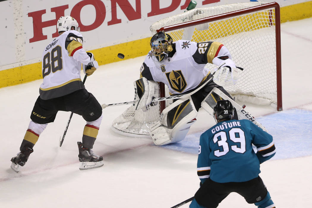 Golden Knights extend remarkable expansion season into conference finals