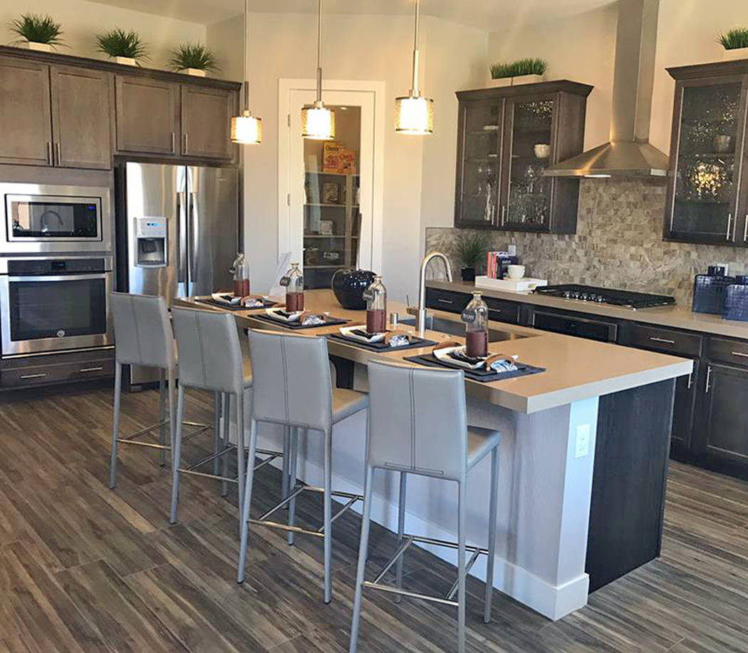 The Nevada Builder Trade In Program helps home shoppers purchase new homes contingent on the sale of their current ones at more than 50 builder-partner neighborhoods, including those at this Centu ...