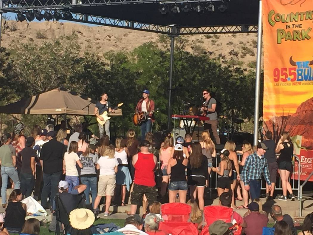 Country in the Park will be held 2 to 8 p.m. Saturday in the 80-acre Exploration Park's amphitheater in Mountain's Edge. (Mountain's Edge)