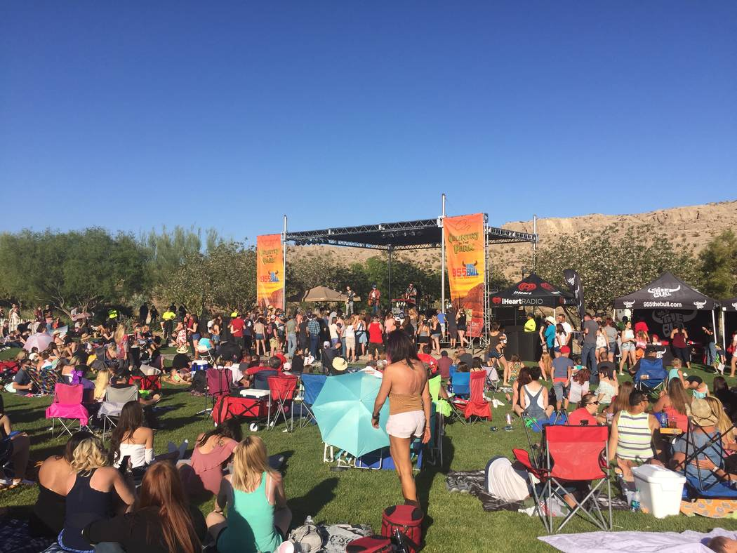 Country in the Park will be held May 12 in Mountain's Edge. (Mountain's Edge)